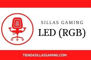 Sillas gaming Led rgb